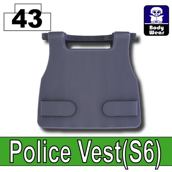 Dark Blue Gray_Police Vest(S6)