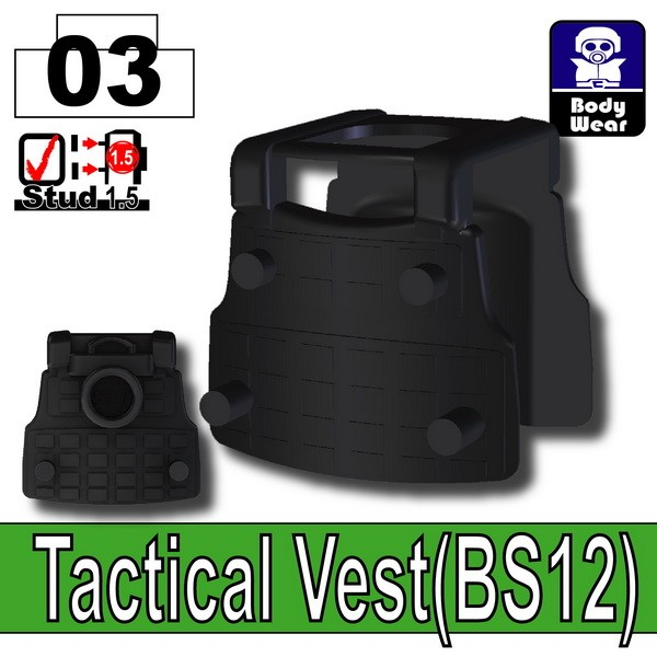 Black_Tactical Vest(BS12)