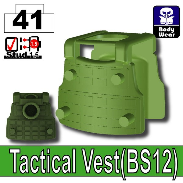 Tank Green_Tactical Vest(BS12)