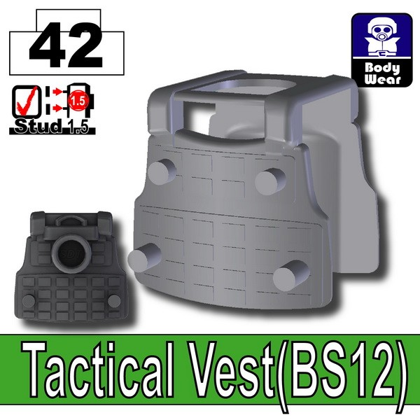 Iron Black_Tactical Vest(BS12)