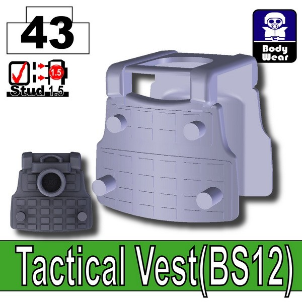 Dark Blue Gray_Tactical Vest(BS12)