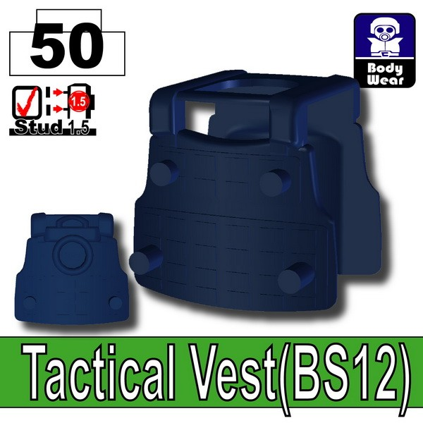 Dark Blue_Tactical Vest(BS12)