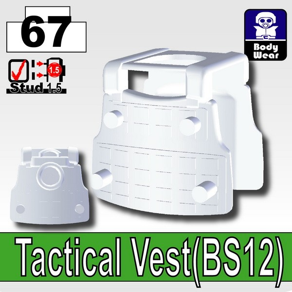 Cold White_Tactical Vest(BS12)