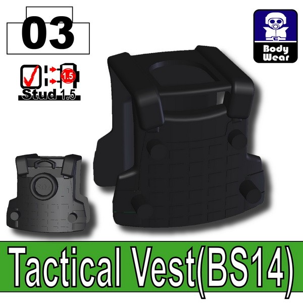 Black_Tactical Vest(BS14)