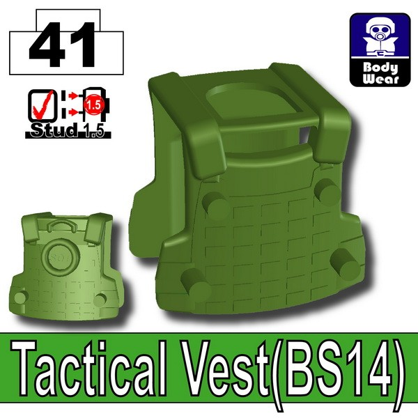 Tank Green_Tactical Vest(BS14)