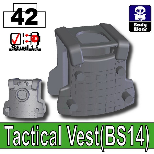 Iron Black_Tactical Vest(BS14)