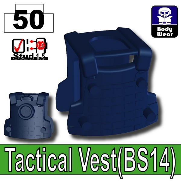 Dark Blue_Tactical Vest(BS14)