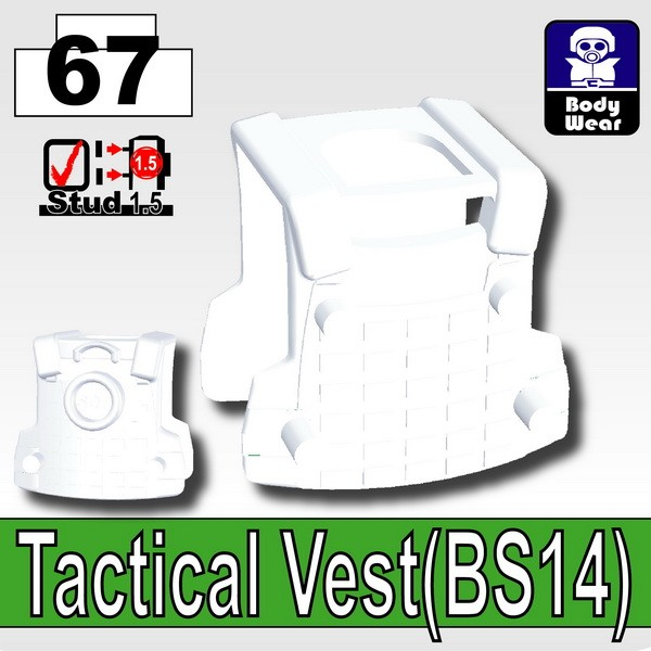 Cold White_Tactical Vest(BS14)