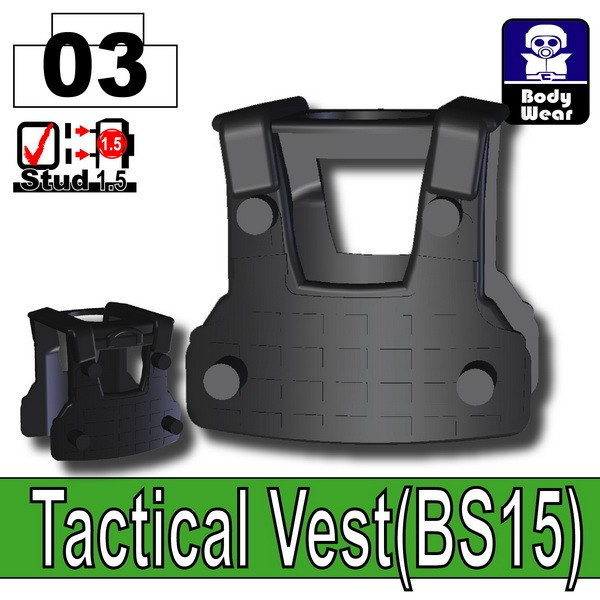 Black_Tactical Vest(BS15)