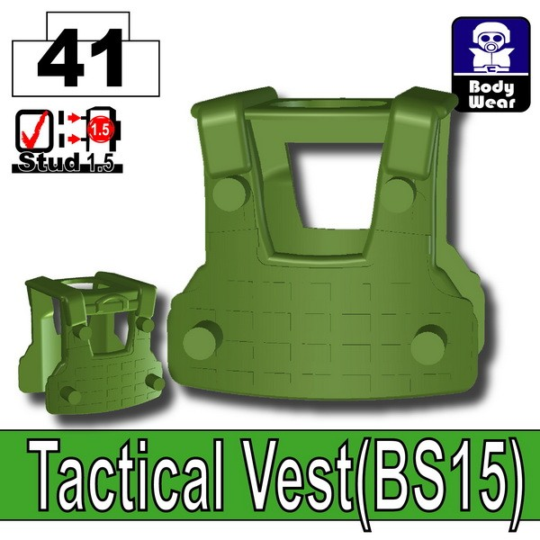 Tank Green_Tactical Vest(BS15)
