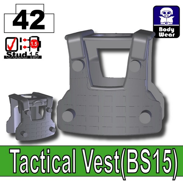 Iron Black_Tactical Vest(BS15)