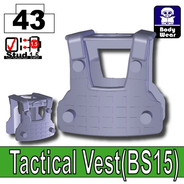 Dark Blue Gray_Tactical Vest(BS15)