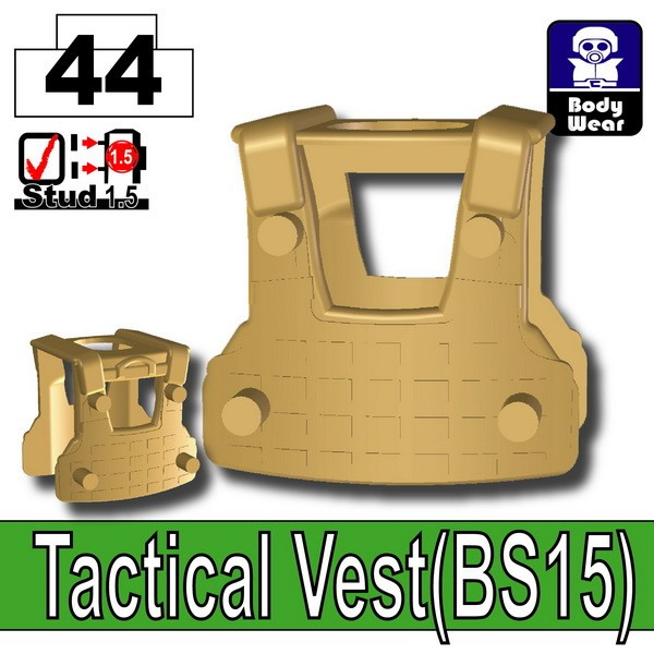 Dark Tan-2_Tactical Vest(BS15)