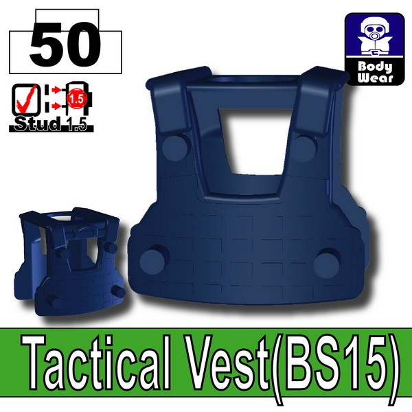 Dark Blue_Tactical Vest(BS15)
