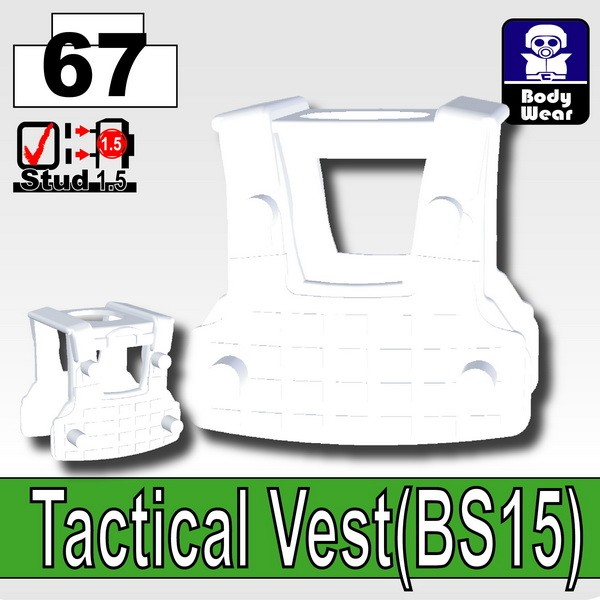 Cold White_Tactical Vest(BS15)