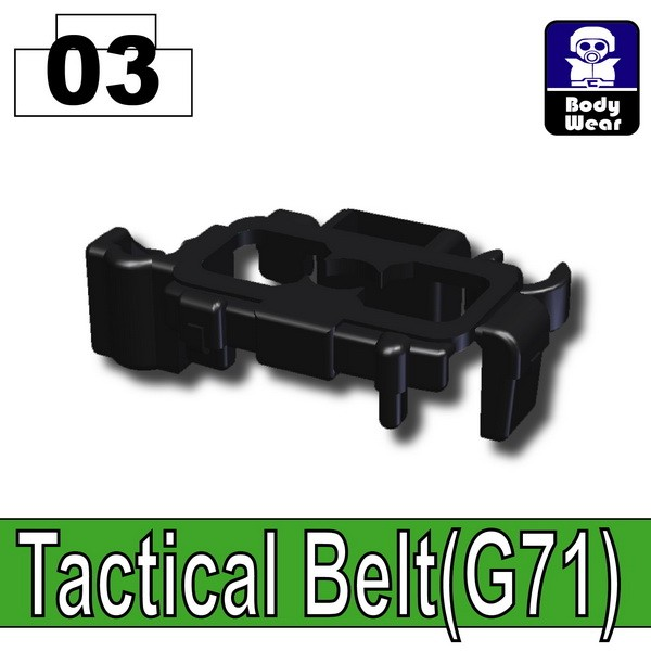 Black_Tactical Belt(G71)