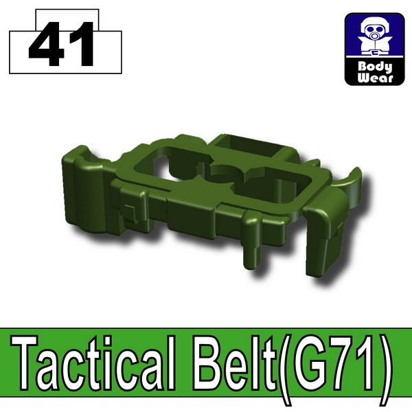Tank Green_Tactical Belt(G71)