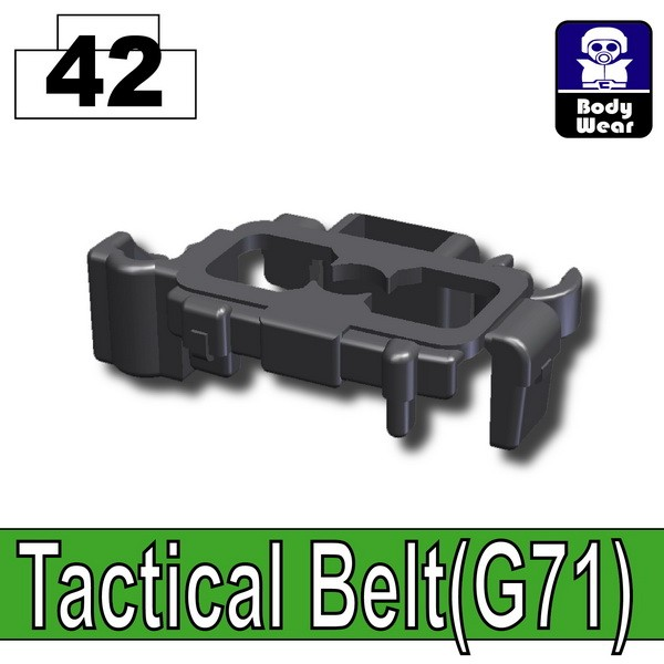 Iron Black_Tactical Belt(G71)