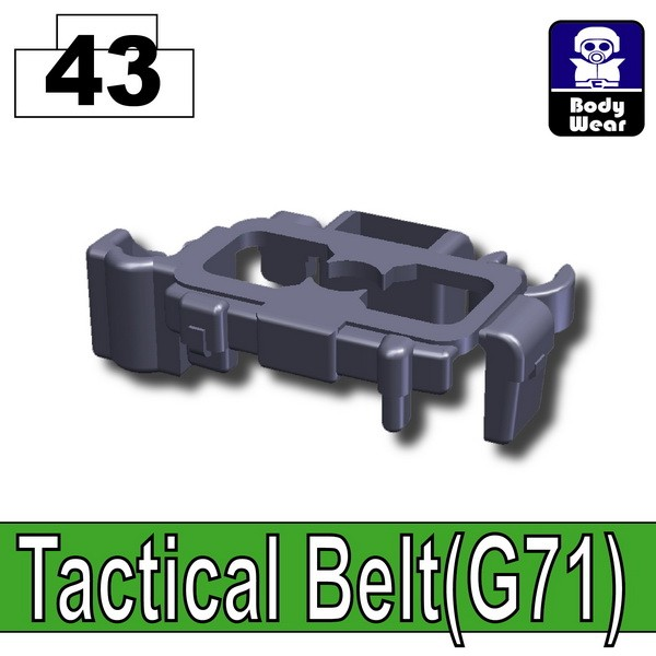 Dark Blue Gray_Tactical Belt(G71)