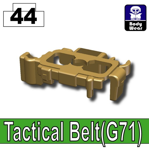 Dark Tan-2_Tactical Belt(G71)