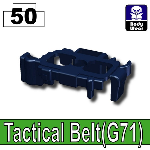 Dark Blue_Tactical Belt(G71)