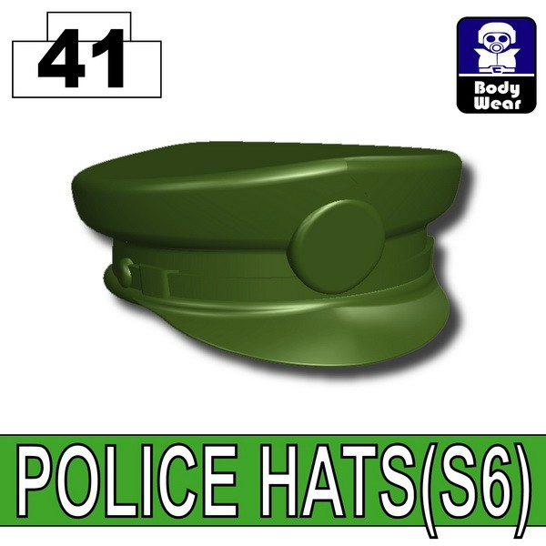 Tank Green_POLICE HATS(S6)