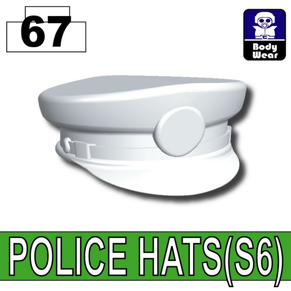 Cold White_POLICE HATS(S6)