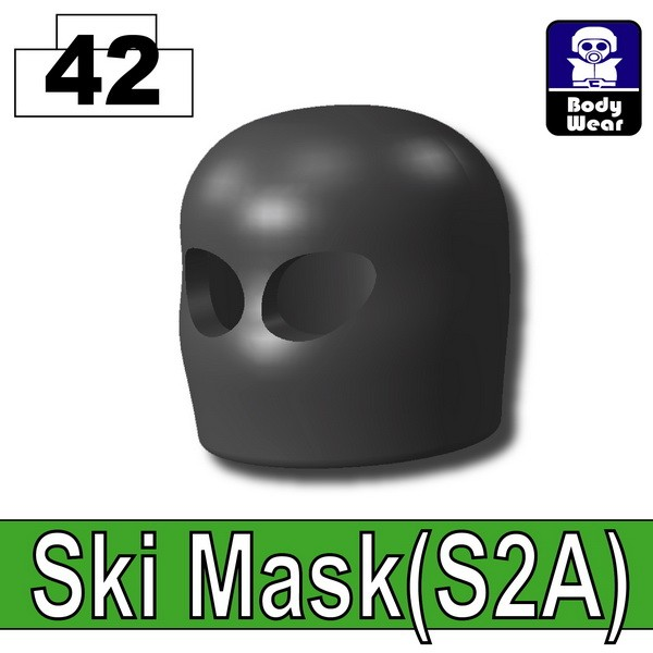 Iron Black_Ski Mask(S2A)