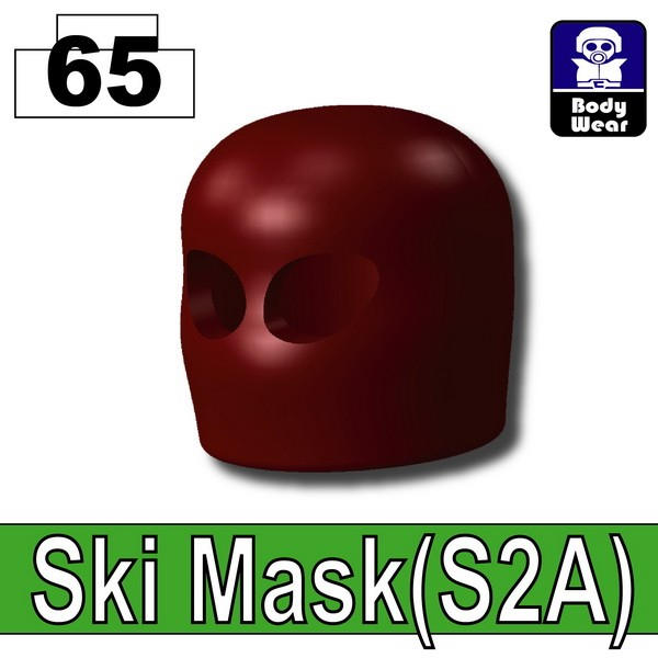 Deep Dark Red_Ski Mask(S2A)