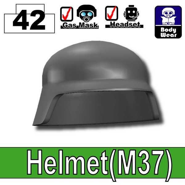 Iron Black_Helmet(M37)