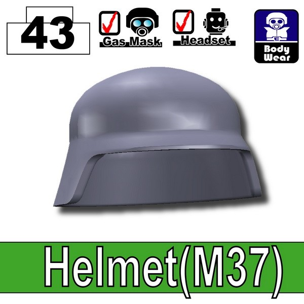 Dark Blue Gray_Helmet(M37)