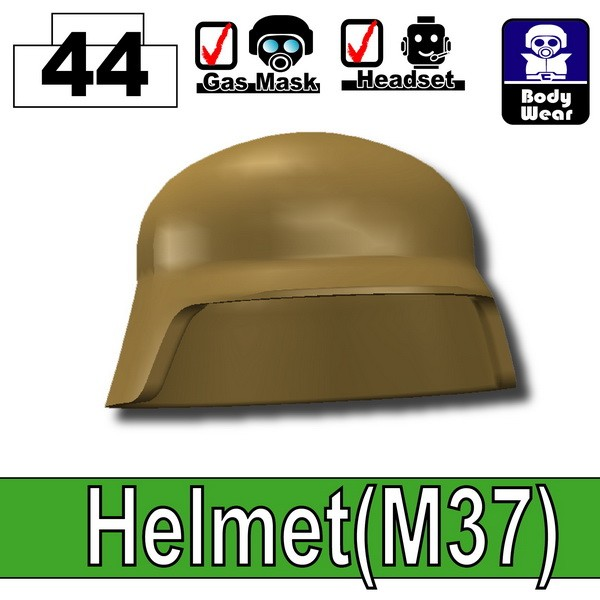 Dark Tan-2_Helmet(M37)