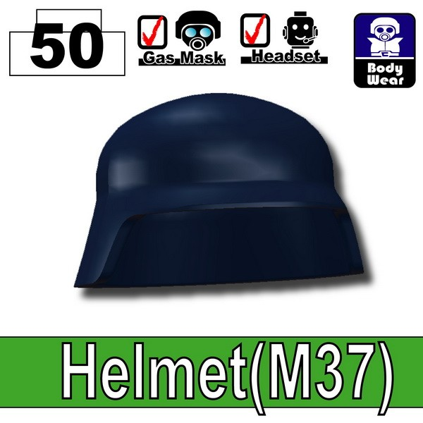 Dark Blue_Helmet(M37)