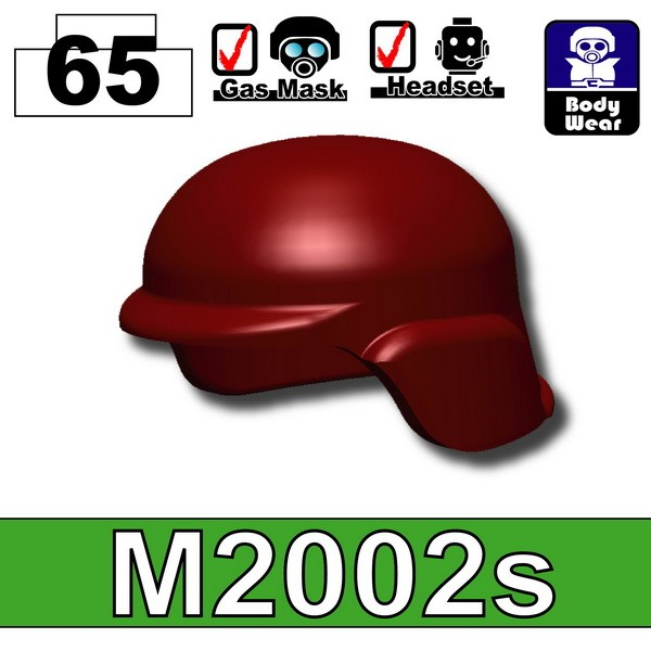 Deep Dark Red_Helmet(M2002s)