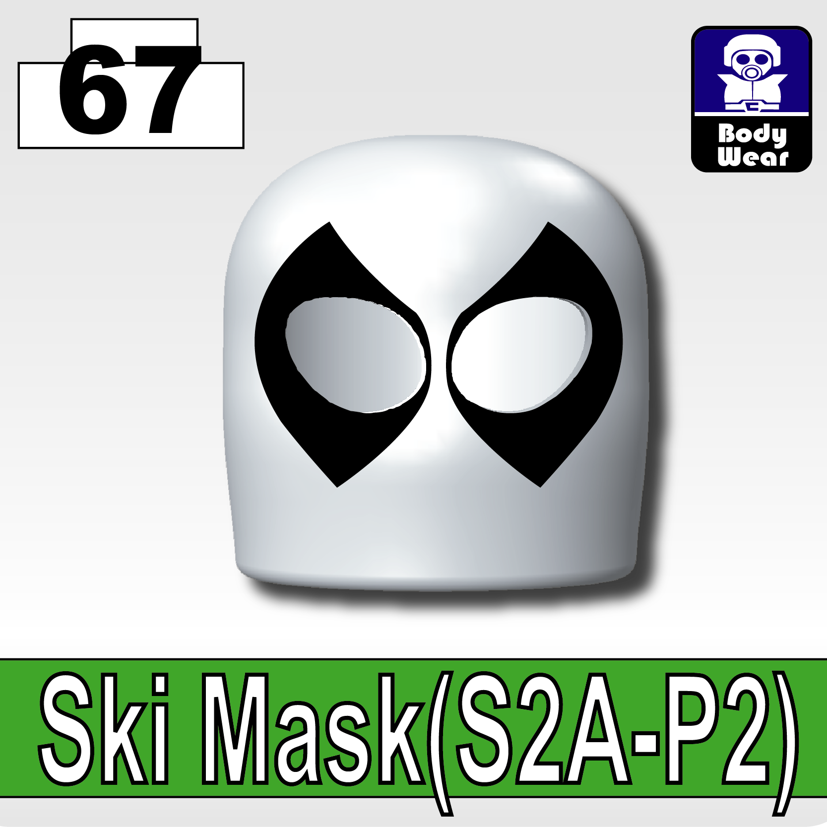 Cold White_Ski Mask(S2A-P2)
