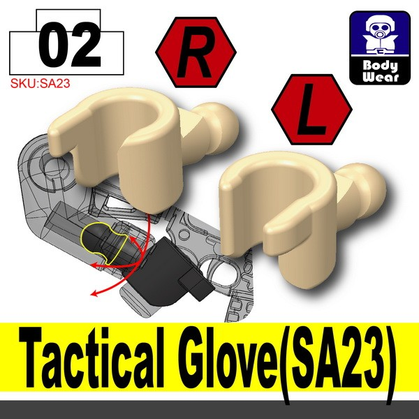 (02)Skin_Tactical Glove(SA23)
