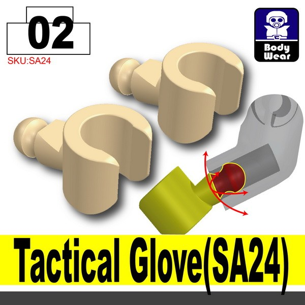 (02)Skin_Tactical Glove(SA24)X2