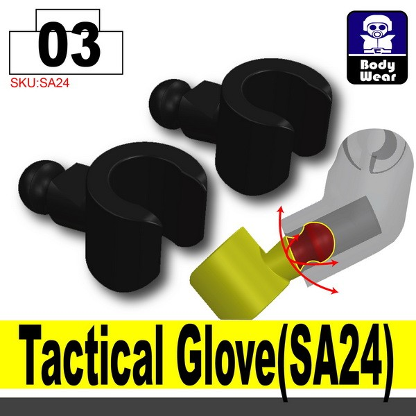 (03)Black_Tactical Glove(SA24)X2