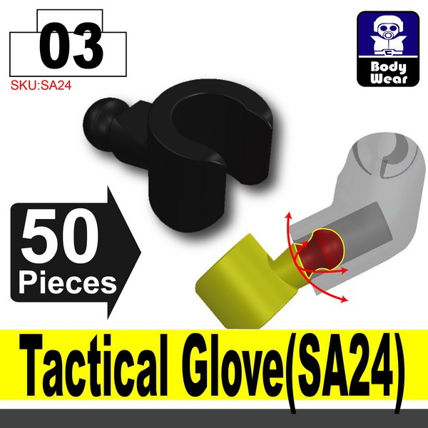 (03)Black_Tactical Glove(SA24)X50