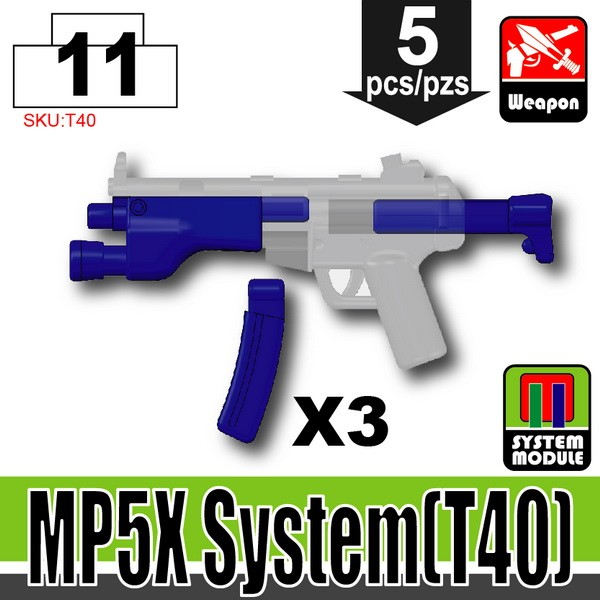 Blue_MP5X System(T40)