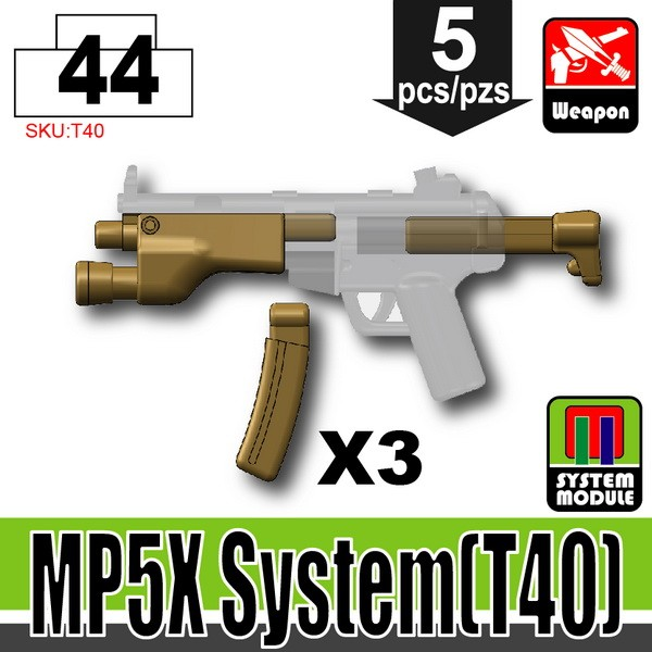 Dark Tan_MP5X System(T40)