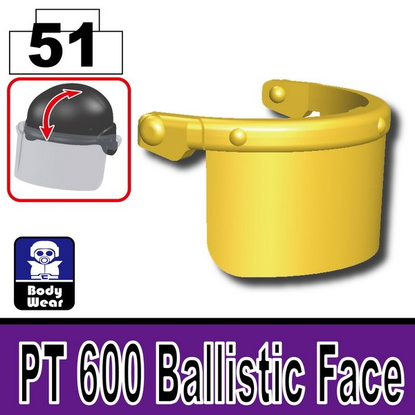 Gold_PT 600 Ballistic Face