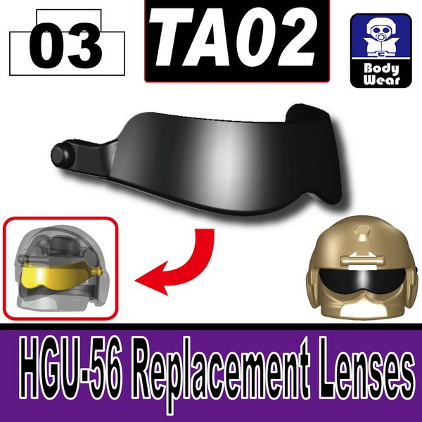Black_TA02(HGU-56 Replacement Lenses)