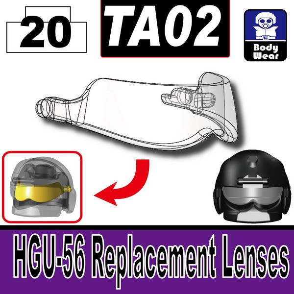 Mx Clear_TA02(HGU-56 Replacement Lenses)