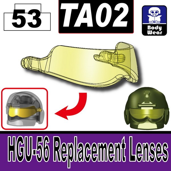 Transparent Yellow_TA02(HGU-56 Replacement Lenses)