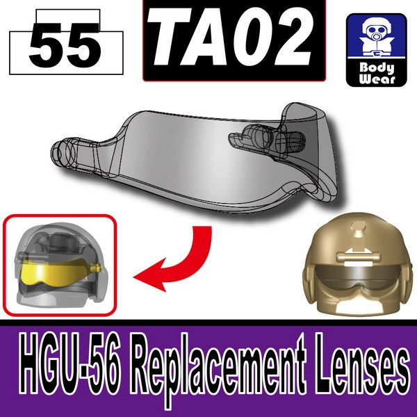Transparent Black_TA02(HGU-56 Replacement Lenses)