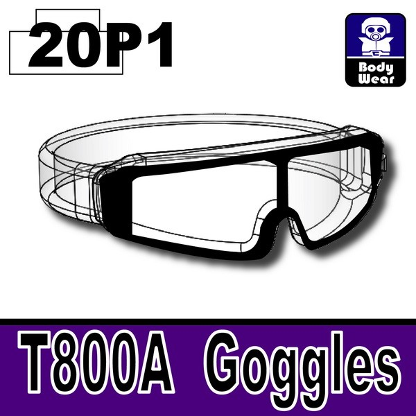 MX Clear20P1_T800A Goggles