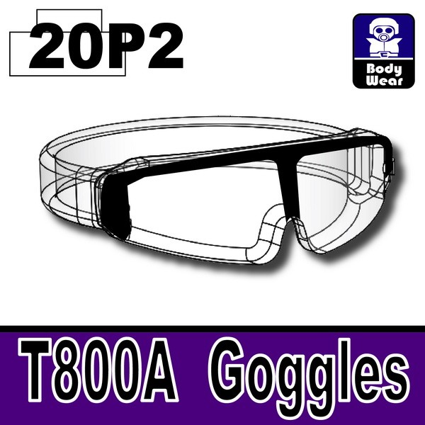 MX Clear20P2_T800A Goggles