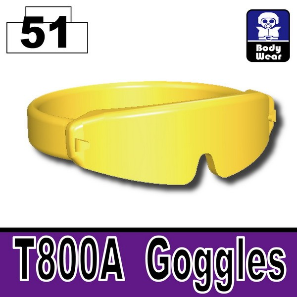 Gold_T800A Goggles
