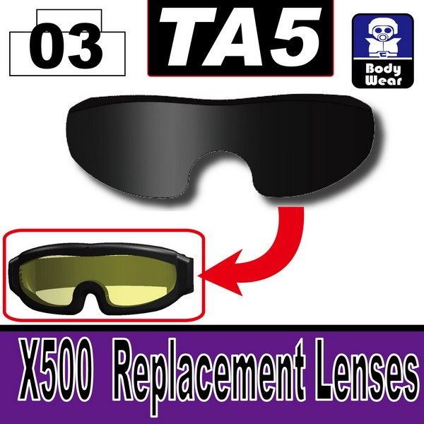 Black_TA5(X500  Replacement Lenses)